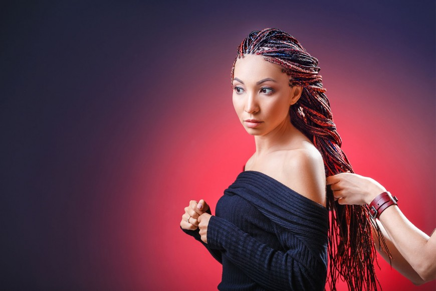 Par de impletit codite afro Super Braid Impression